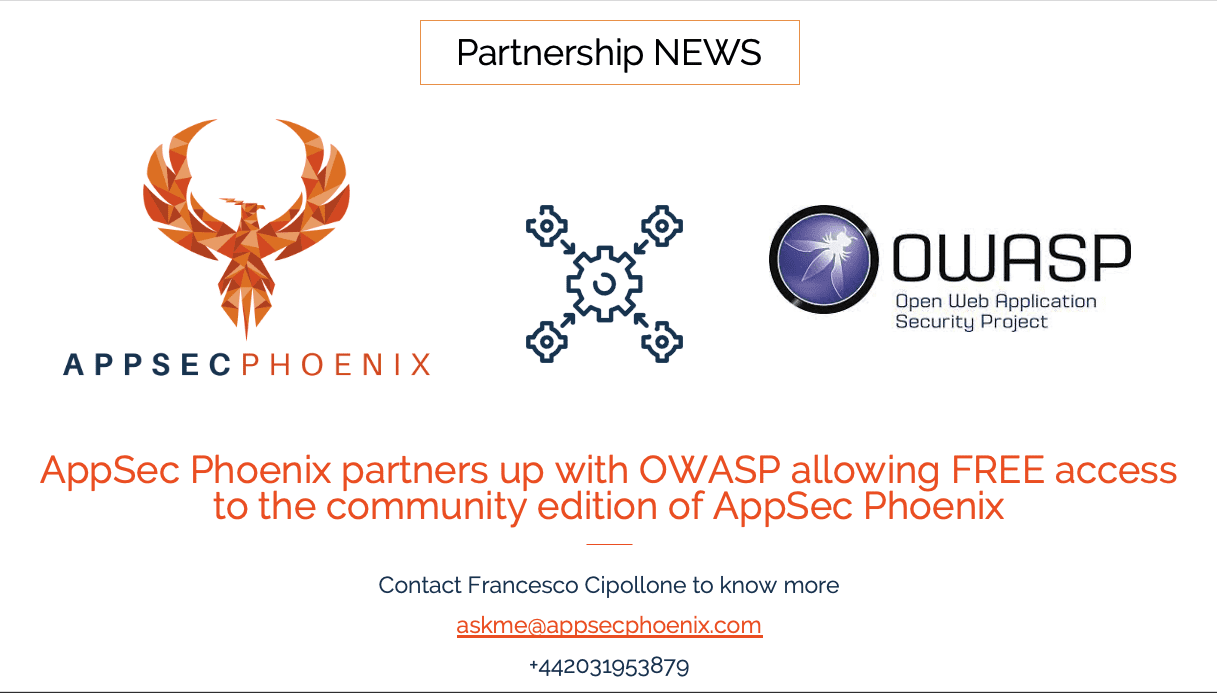 AppSec Phoenix Announces Partnership with OWASP